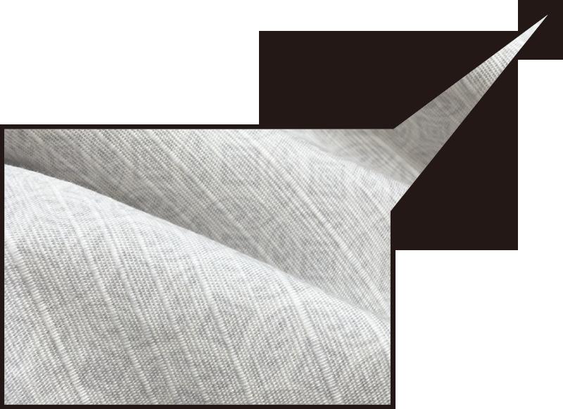 アロハシャツ−かりゆしウェア【ハイビーペイズリーボーダー(開襟シャツ) メンズ】は綿100%