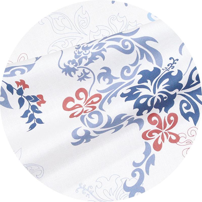 スリムフィットシャツ【ドラゴントライバル(開襟シャツ) メンズ】は綿100%