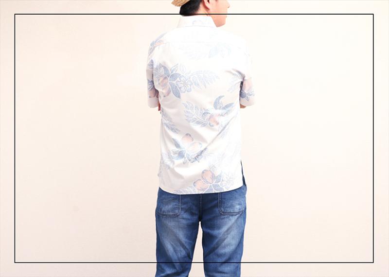 スリムフィットタイプ【マンゴハイビー(ボタンダウンシャツ)裏地仕様 メンズ】は着合わせやすい