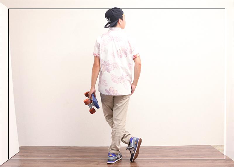 スリムフィットタイプ【マンゴハイビー(ボタンダウンシャツ)裏地仕様 メンズ】はどんなファッションにも似合う