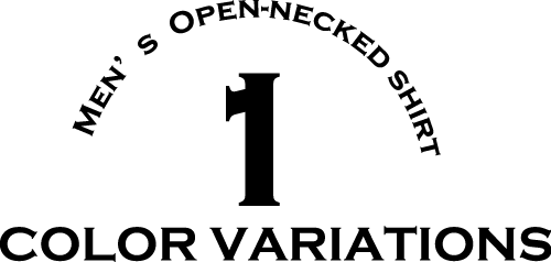 メンズ沖縄アロハシャツ(かりゆしウェア)オフブルー