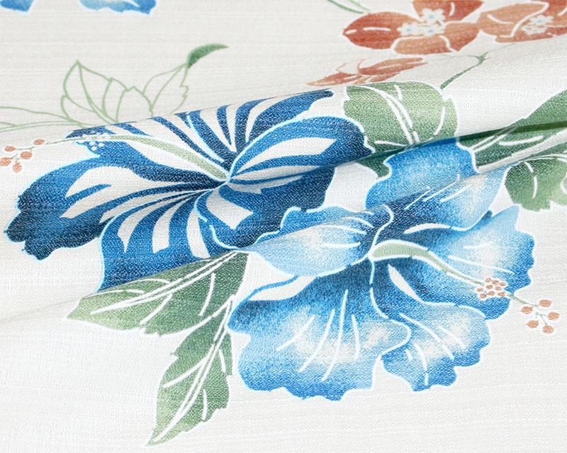 レディース沖縄アロハシャツ(かりゆしウェア)生地