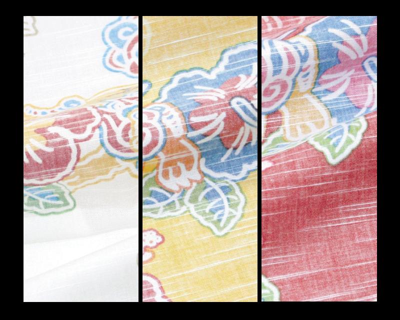 沖縄ナウなレディースアロハシャツ カラーバリエーション