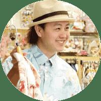 沖縄アロハシャツ イシキ デザイナー かりゆしウェア