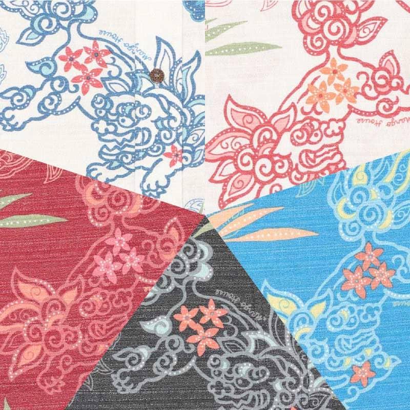 沖縄が着れるレディース沖縄アロハ-かりゆしウェア 色
