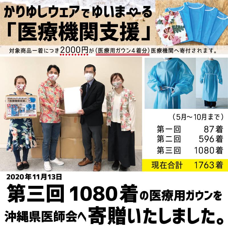沖縄県医師会へ寄贈しました。