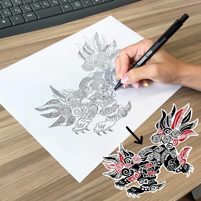 沖縄アロハシャツ 絵柄 かりゆしウェア mangohouse マンゴハウス