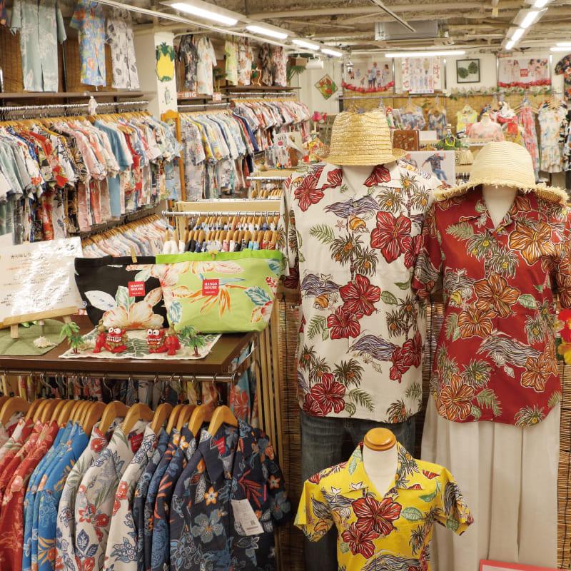 沖縄アロハシャツ 店 かりゆしウェア mangohouse マンゴハウス