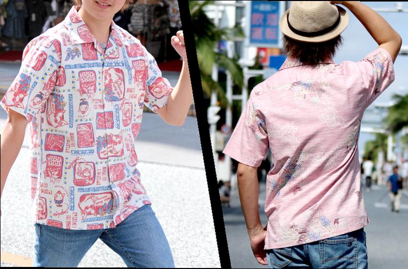 沖縄アロハシャツ 日本人スタイル かりゆしウェア