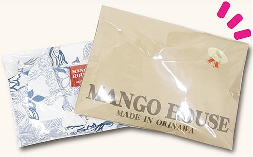 沖縄アロハシャツ(かりゆしウェア)専門店マンゴハウスは、無料ラッピングできます。