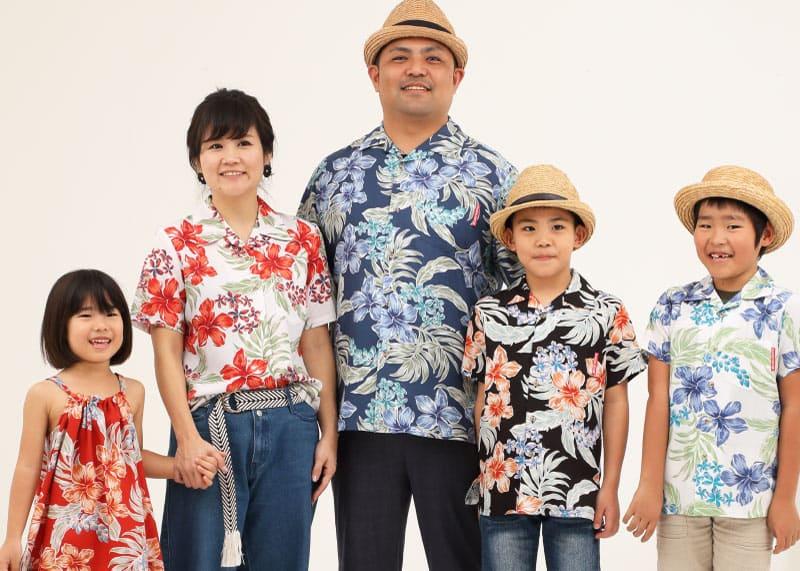 家族おそろいコーデ写真