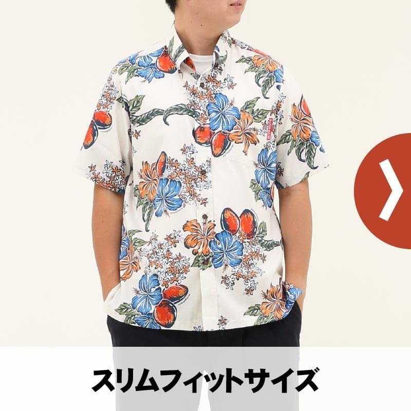メンズ スリムフィットシャツ(細身サイズ)