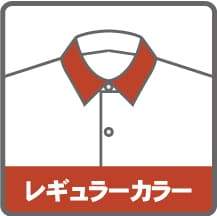 レディースレギュラカラーシャツタイプ