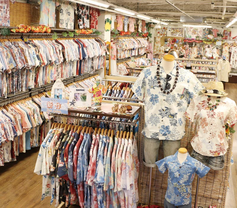 沖縄アロハシャツ 店 かりゆしウェア