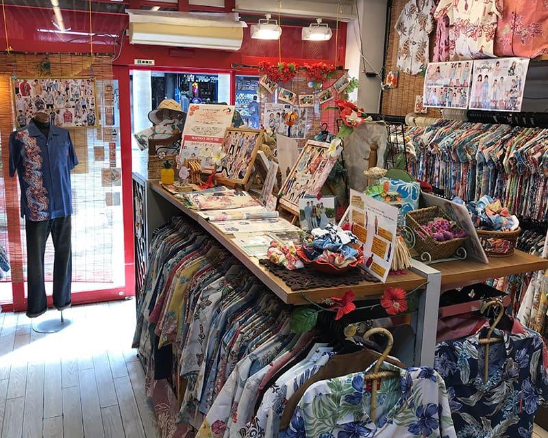 沖縄アロハシャツ MANGO HOUSE1号店 かりゆしウェア