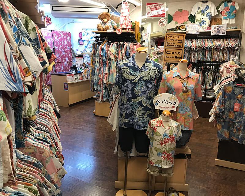 沖縄アロハシャツ 那覇市松尾 かりゆしウェア