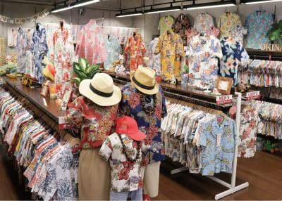 沖縄アロハシャツ 那覇市具志 かりゆしウェア