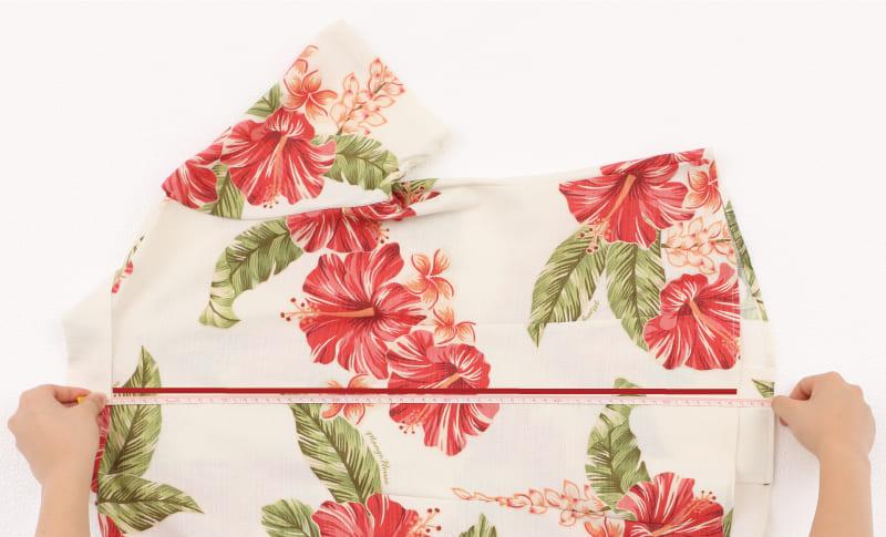 沖縄アロハシャツ レディース着丈 かりゆしウェア