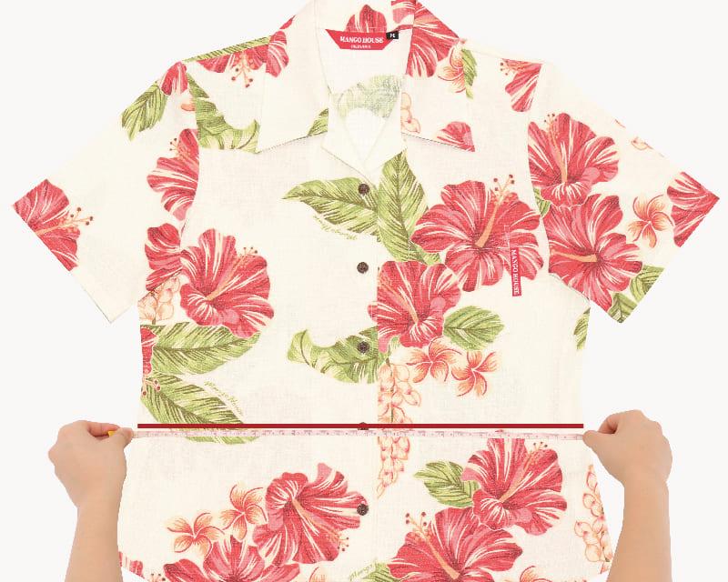 沖縄アロハシャツ ウエスト かりゆしウェア