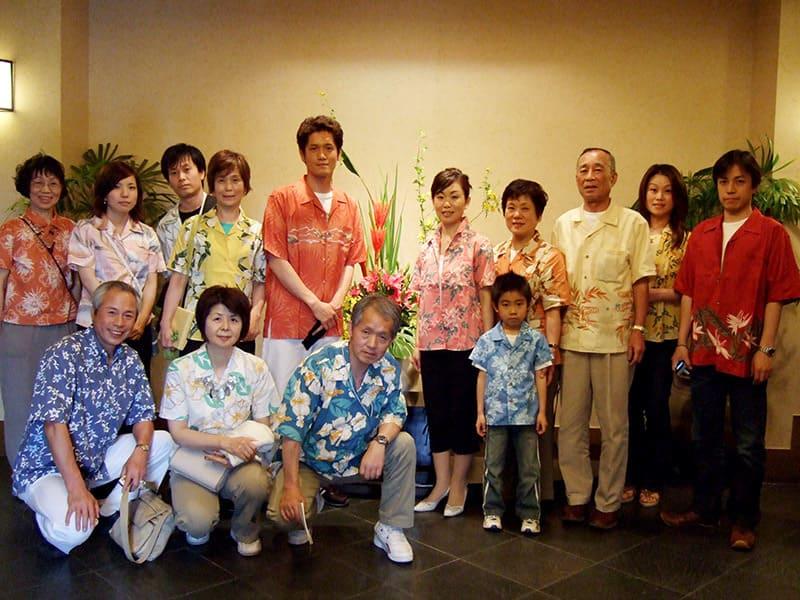 沖縄結婚式(かりゆしウェディング)記念写真を2008年5月11日にご提供いただきました・2枚目。