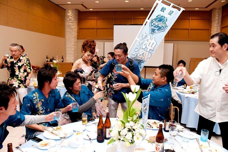 沖縄結婚式(かりゆしウェディング)記念写真を2011年2月19日にご提供いただきました・2枚目。