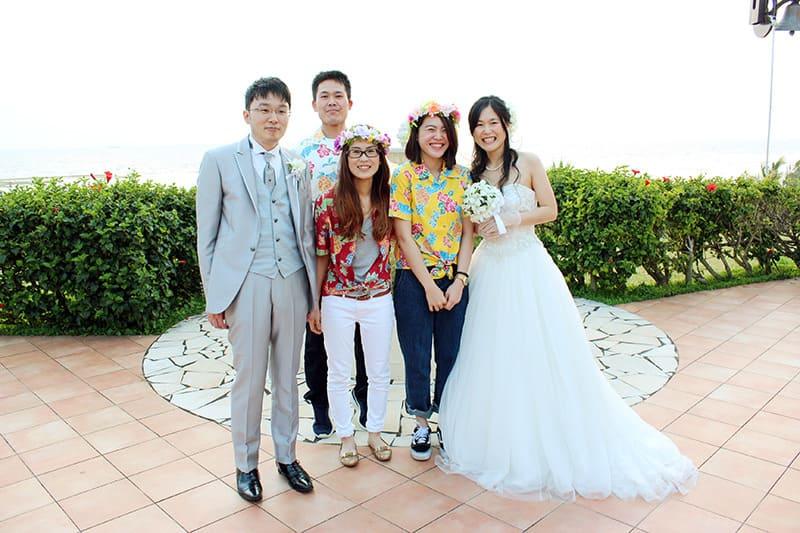 沖縄結婚式 かりゆしウェア ウェディング20170318