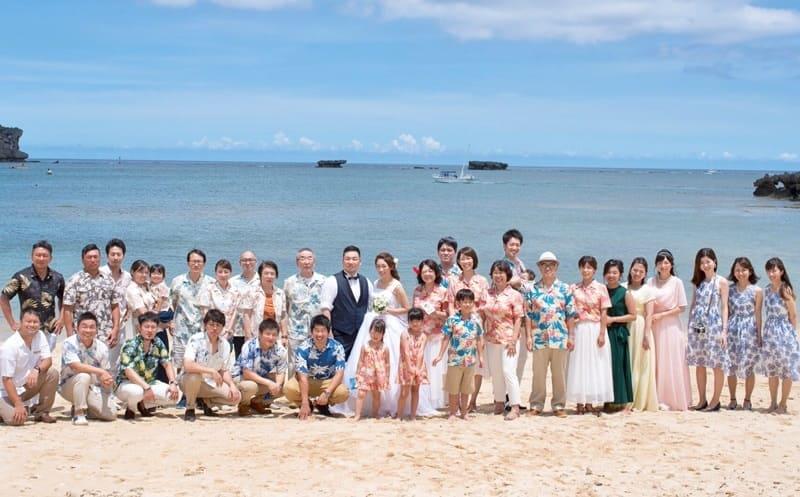 沖縄結婚式 ANAインターコンチネンタル かりゆしウエディング