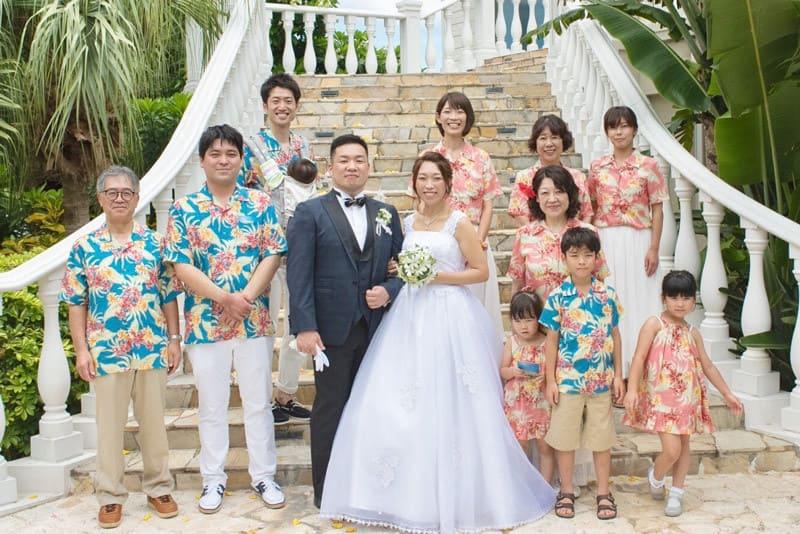 沖縄結婚式 万座ビーチリゾートホテル かりゆしウエディング