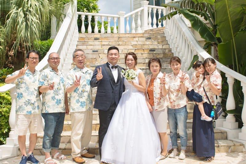 沖縄結婚式 コーラルヴィータチャペル かりゆしウエディング