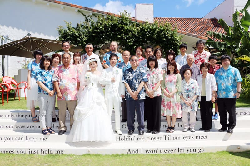 沖縄結婚式 沖縄イル・ド・レチャペル かりゆしウエディング
