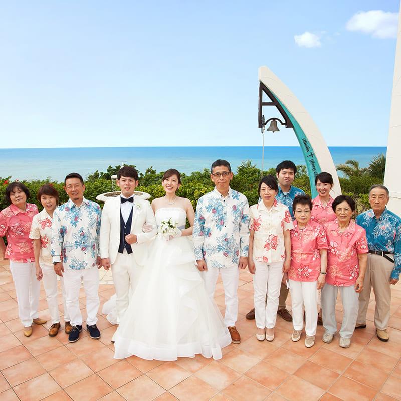 沖縄結婚式 ホテル日航アリビラ かりゆしウエディング