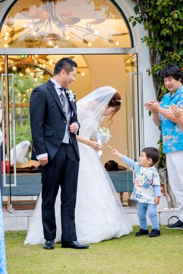 沖縄結婚式 キッズお手伝い かりゆしウエディング