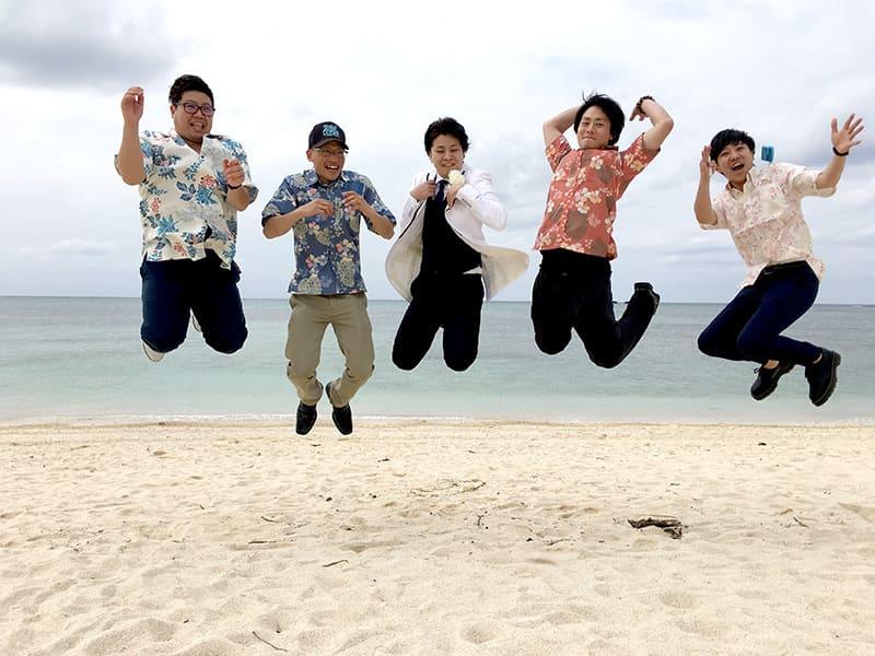 沖縄結婚式 ハッピーフォト かりゆしウエディング