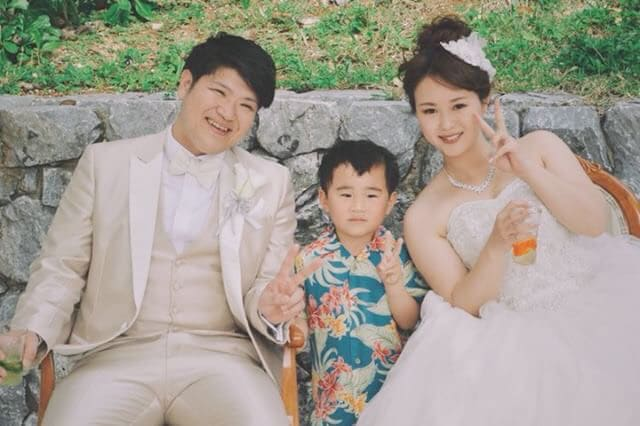 沖縄結婚式 ルネッサンスリベーラ教会 かりゆしウエディング