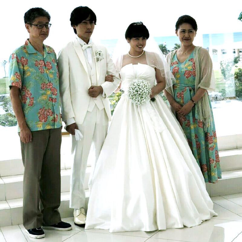 沖縄結婚式 アットホームな雰囲気 かりゆしウエディング