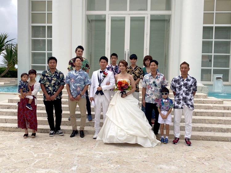 沖縄結婚式 アールイズ・スイート・海の教会 かりゆしウエディング