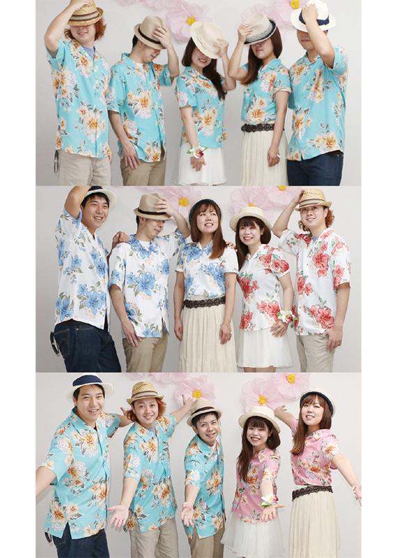 沖縄結婚式(かりゆしウェディング)オソロコーデ
