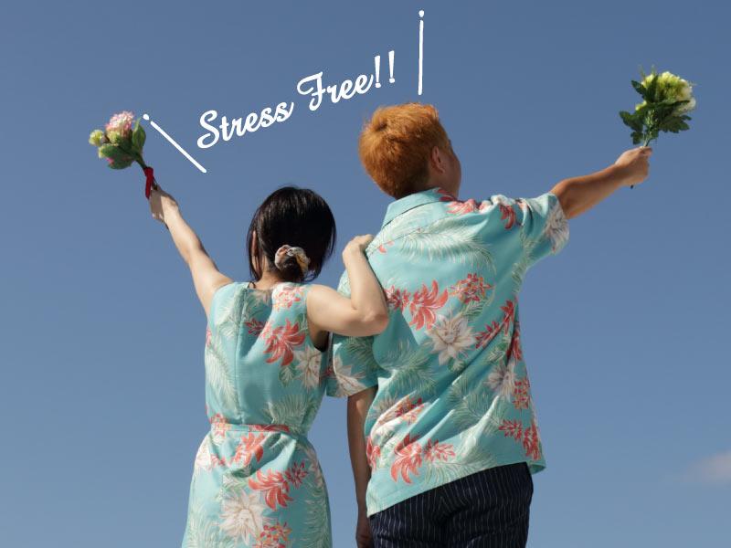 沖縄結婚式 服装 かりゆしウェディング