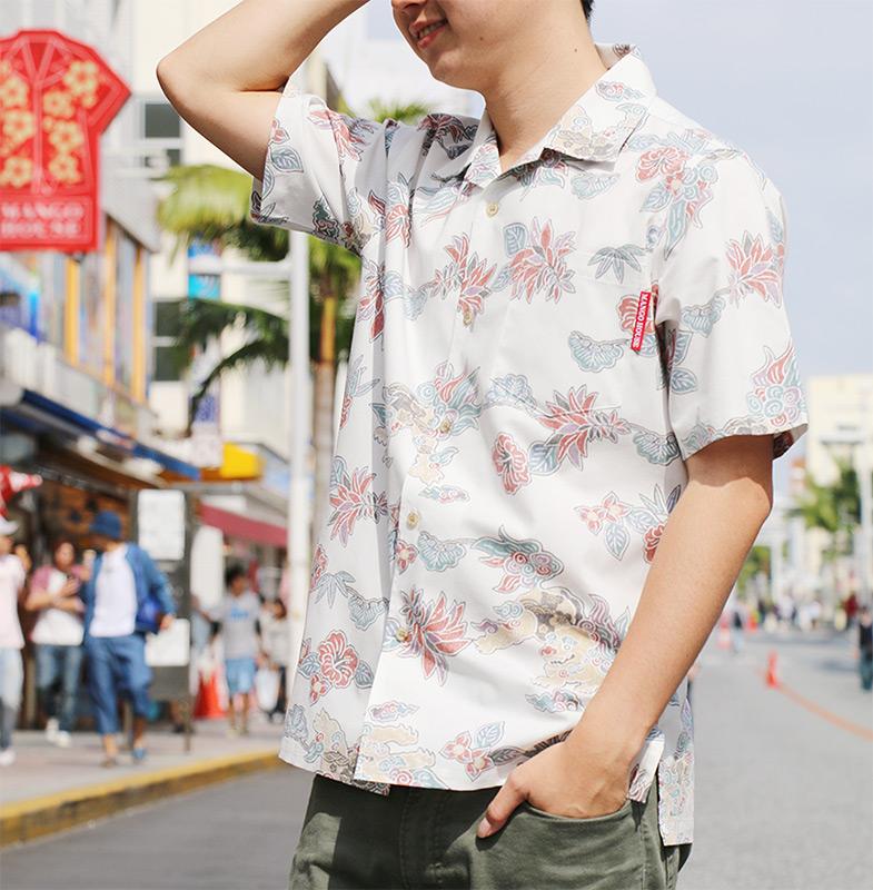 着る人がハッピーになる日本人に似合うアロハシャツ(かりゆしウェア)の完成