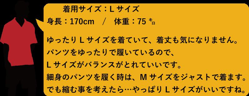 アロハシャツ メンズ170cm75kg かりゆしウェア