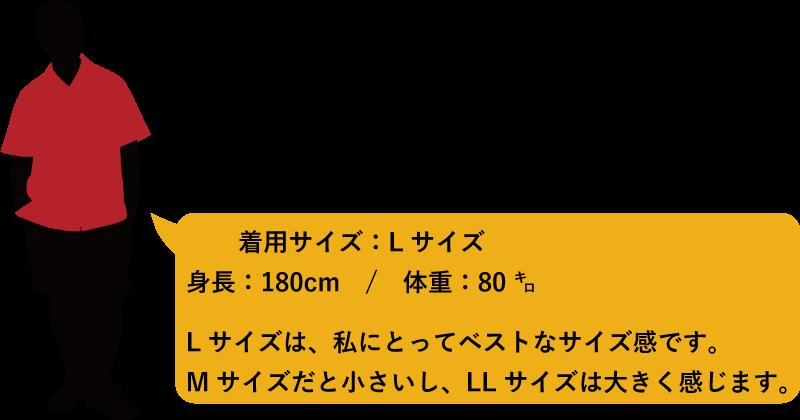 アロハシャツ メンズ180cm80kg かりゆしウェア