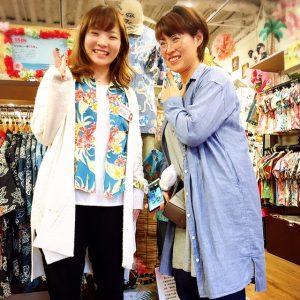 韓国からかりゆしウェアを買いに。可愛いお客様