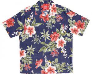 アロハシャツ ボタニカル かりゆしウェア