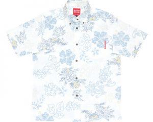 アロハシャツ シーサー かりゆしウェア
