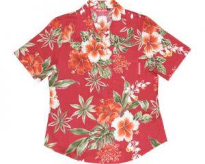 アロハシャツ タニカルハイビー かりゆしウェア