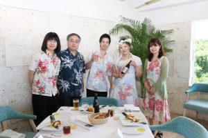 結婚式 沖縄 かりゆしコーデ