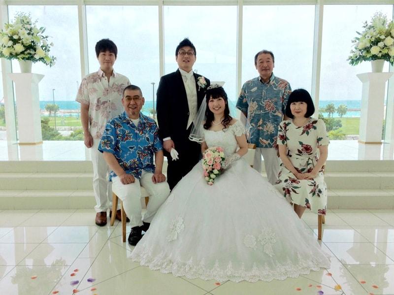 沖縄結婚式 サザンビーチ&ホテルの小さな結婚式