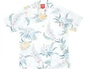 沖縄アロハシャツ 月下美人 かりゆしウェア