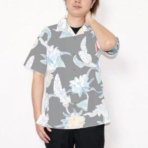 沖縄アロハシャツ 着合わせ かりゆしウェア