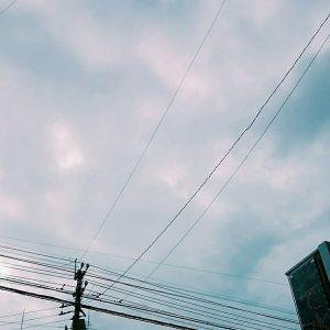 2017年12月31日の沖縄の空